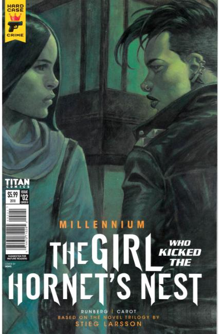 Millennium Girl Who Kicked the Hornets Nest #2 Cover B [Titan Comic]