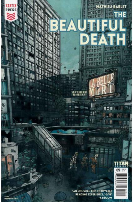 The Beautiful Death #5 [Titan Comic] THUMBNAIL