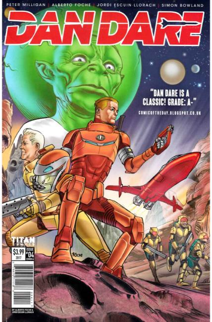Dan Dare #4 Cover A [Titan Comic] THUMBNAIL