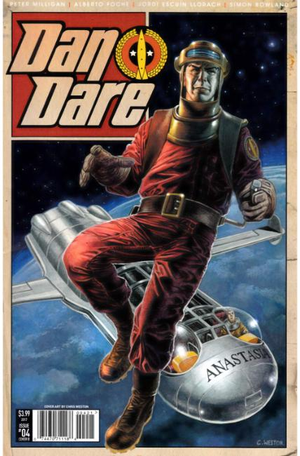 Dan Dare #4 Cover B [Titan Comic] THUMBNAIL
