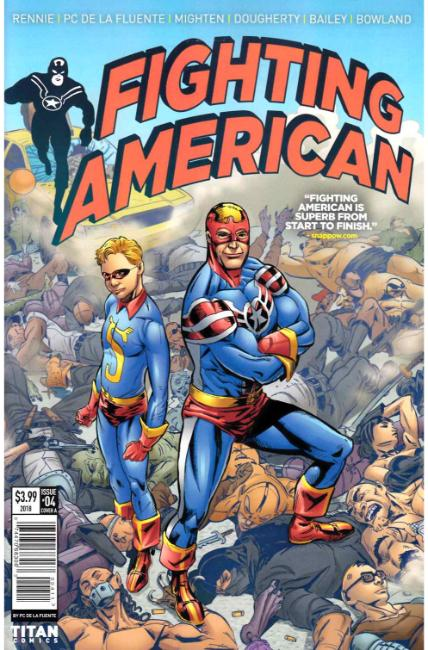 Fighting American #4 Cover A [Titan Comic]
