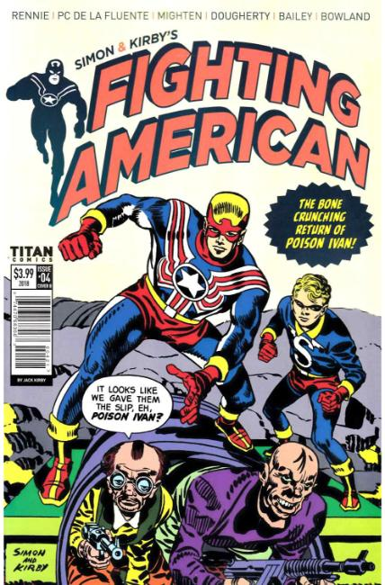 Fighting American #4 Cover B [Titan Comic]