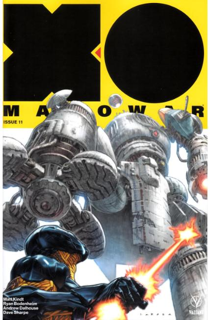 X-O Manowar #11 Cover A [Valiant Comic] THUMBNAIL