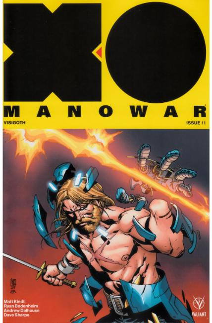 X-O Manowar #11 Cover B [Valiant Comic] THUMBNAIL