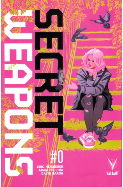 Secret Weapons #0 Cover B [Valiant Comic] THUMBNAIL