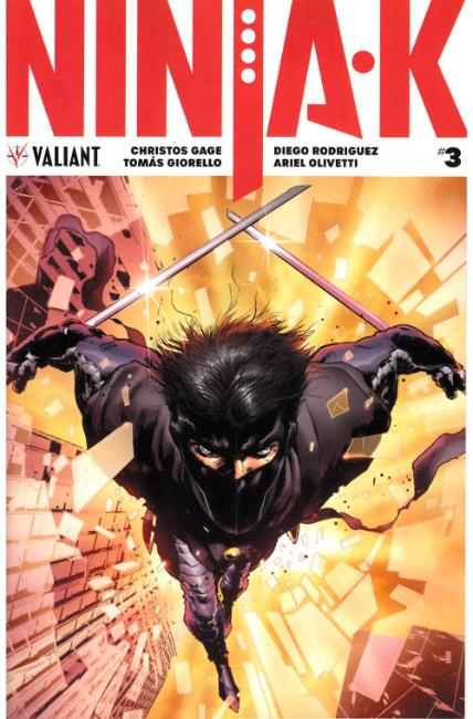 Ninja-K #3 Cover A [Valiant Comic]