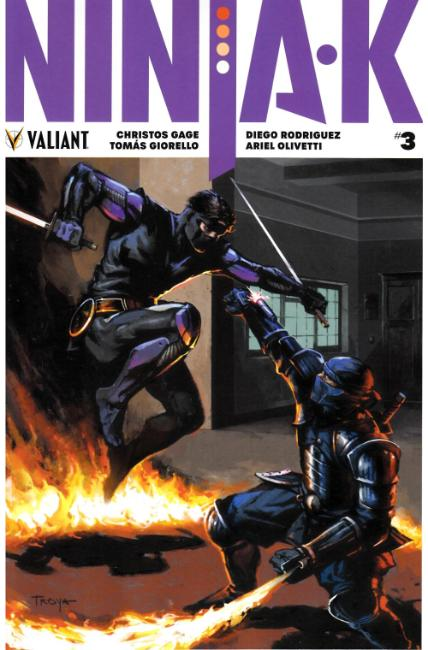 Ninja-K #3 Cover B [Valiant Comic]