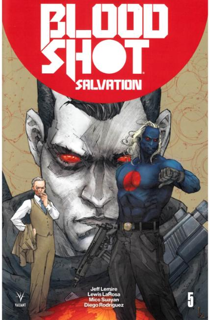 Bloodshot Salvation #5 Cover A [Valiant Comic]