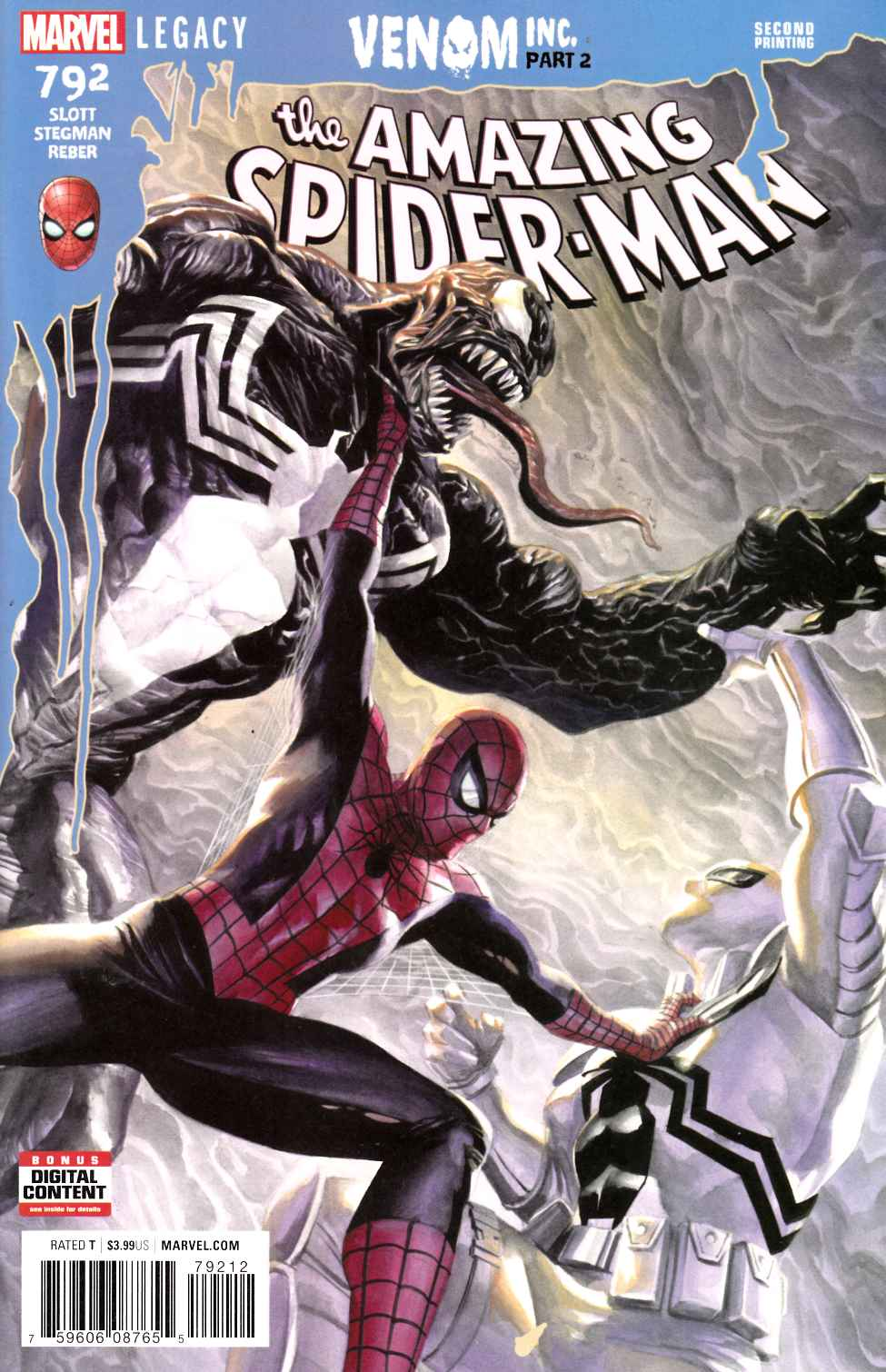 Amazing Spider-Man #792 Second Printing [Marvel Comic]