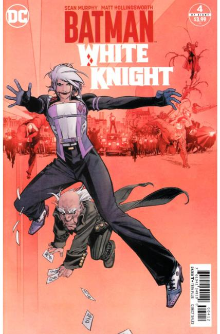 Batman White Knight #4 Second Printing [DC Comic] LARGE