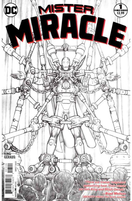 Mister Miracle #1 Fourth Printing Near Mint (9.4) [DC Comic] THUMBNAIL