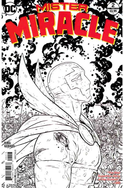 Mister Miracle #2 Third Printing Near Mint (9.4) [DC Comic] THUMBNAIL