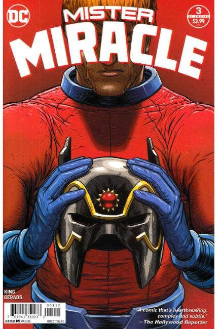 Mister Miracle #3 Second Printing Near Mint (9.4) [DC Comic]_THUMBNAIL