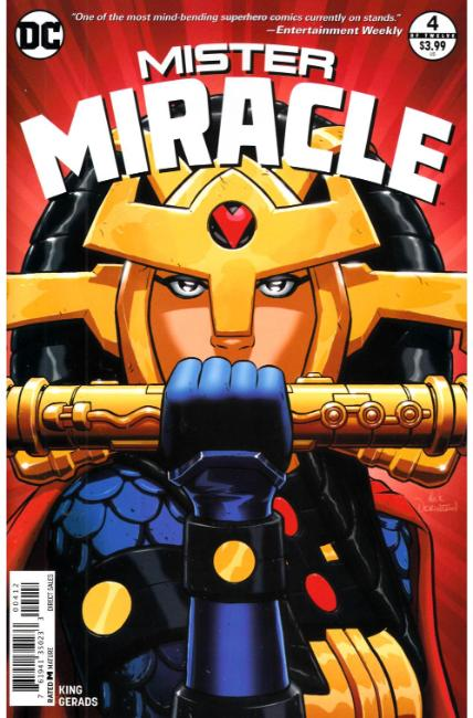 Mister Miracle #4 Second Printing [DC Comic] THUMBNAIL