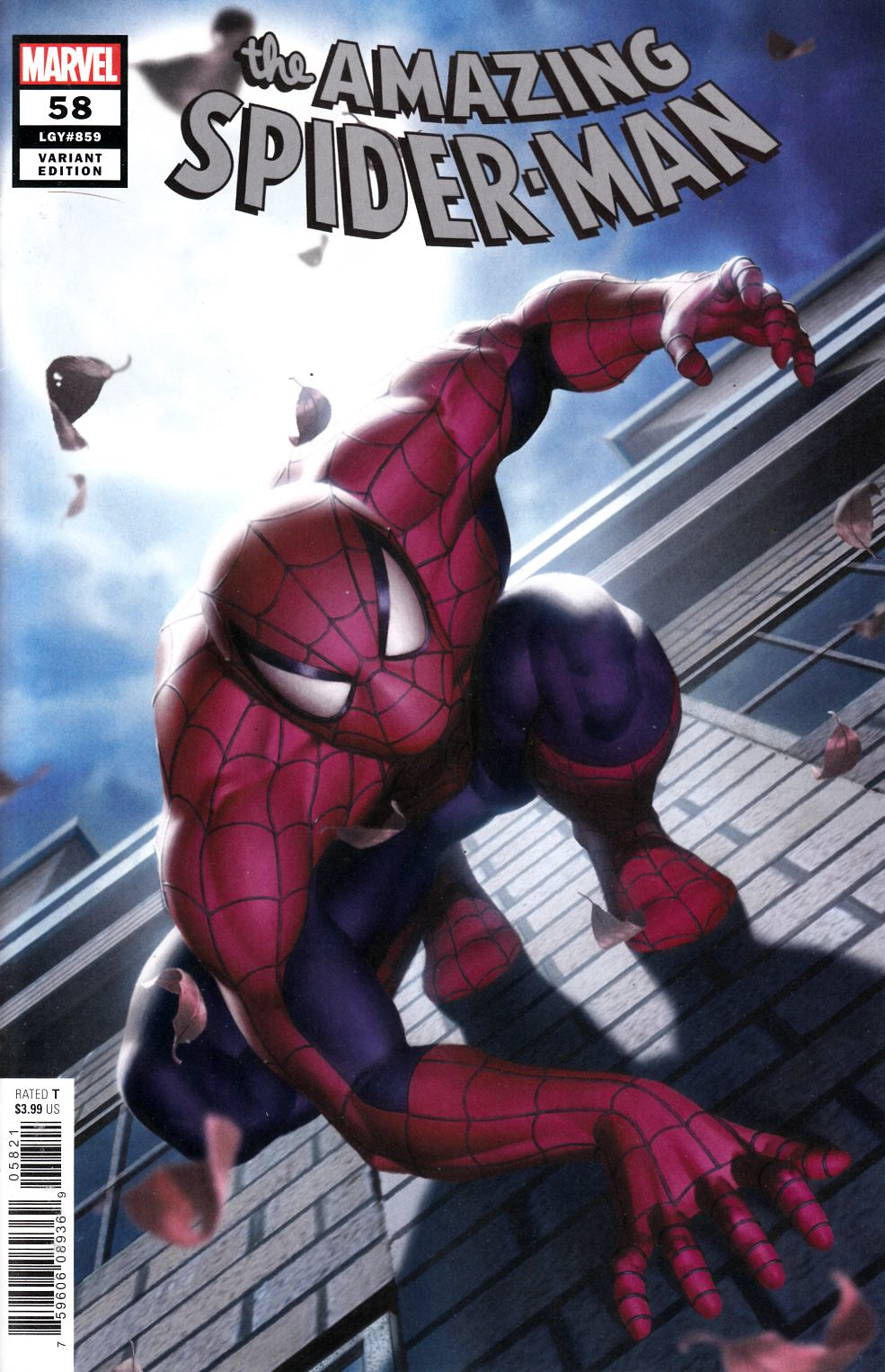 Amazing Spider-Man #58 Yoon Variant Cover Near Mint (9.4) [Marvel Comic] LARGE