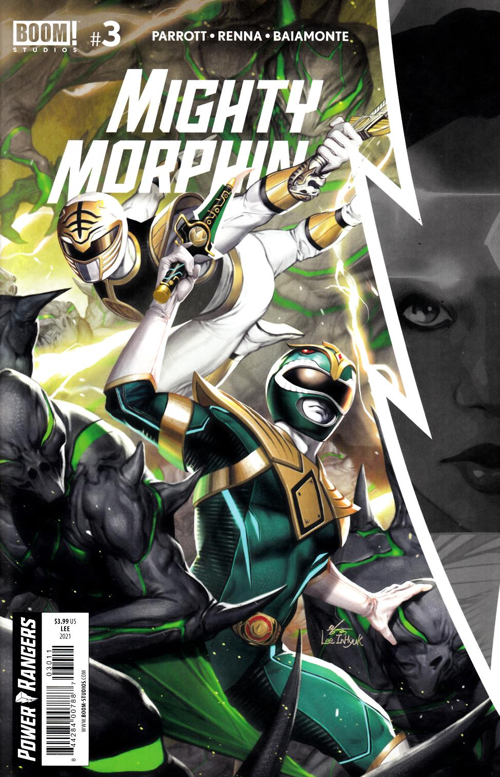 Mighty Morphin #3 Cover A Near Mint (9.4) [Boom Comic] THUMBNAIL