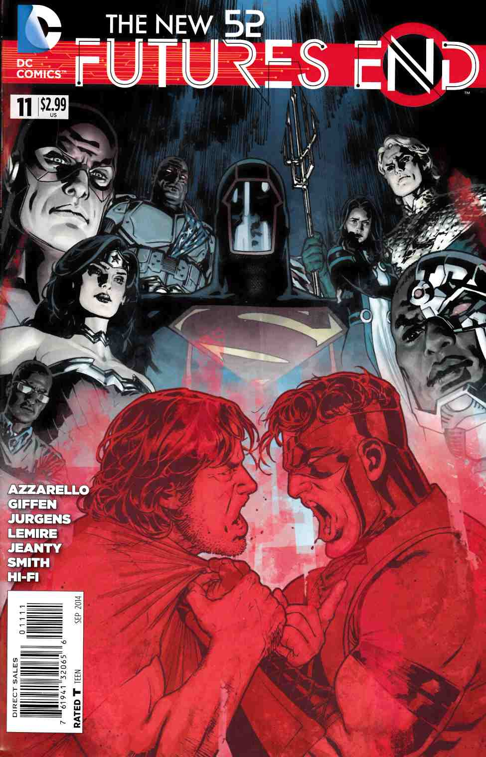 New 52 Futures End #11 [Comic] LARGE