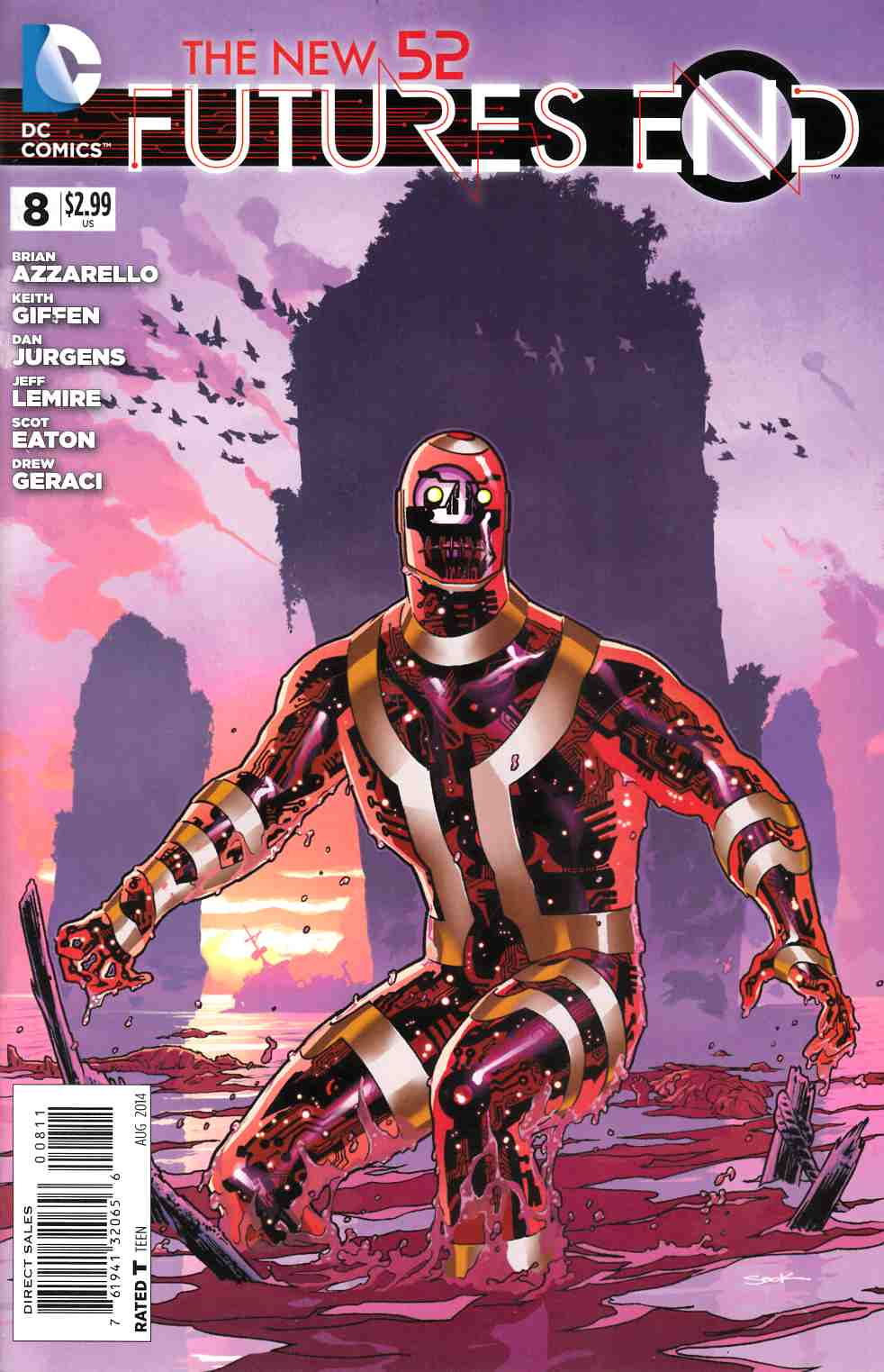 New 52 Futures End #8 [Comic] LARGE