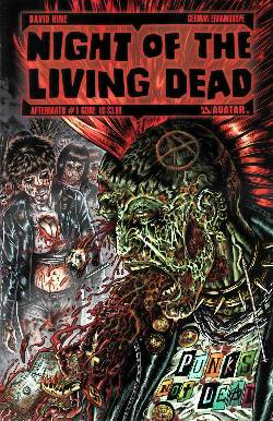 Night Of The Living Dead Aftermath #1 Gore Cover [Comic] LARGE