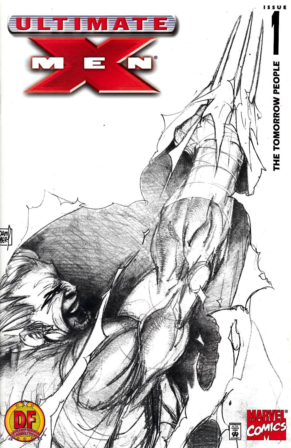 Ultimate X-Men #1 DF Concept Sketch Variant Cover Very Fine (8.0) [Marvel Comic] THUMBNAIL
