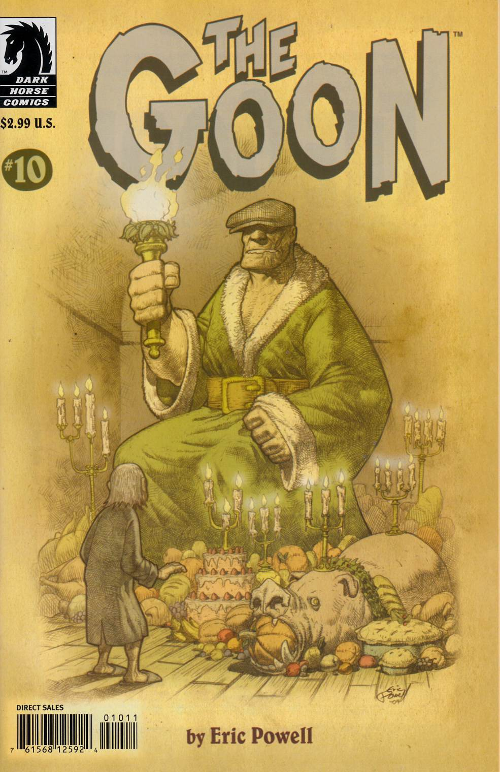 Goon #10 Near Mint (9.4) [Dark Horse Comic] THUMBNAIL