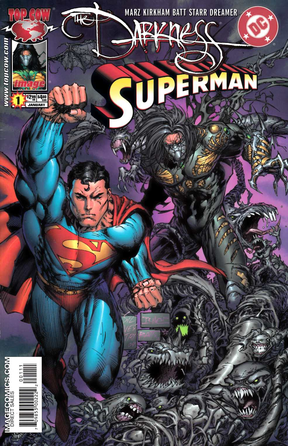 Darkness Superman #1 Very Fine (8.0) [Image Comic] THUMBNAIL