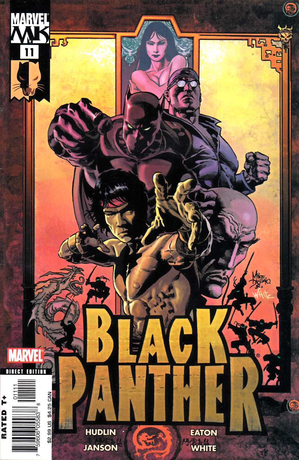 Black Panther #11 Fine (6.0) [Marvel Comic] THUMBNAIL