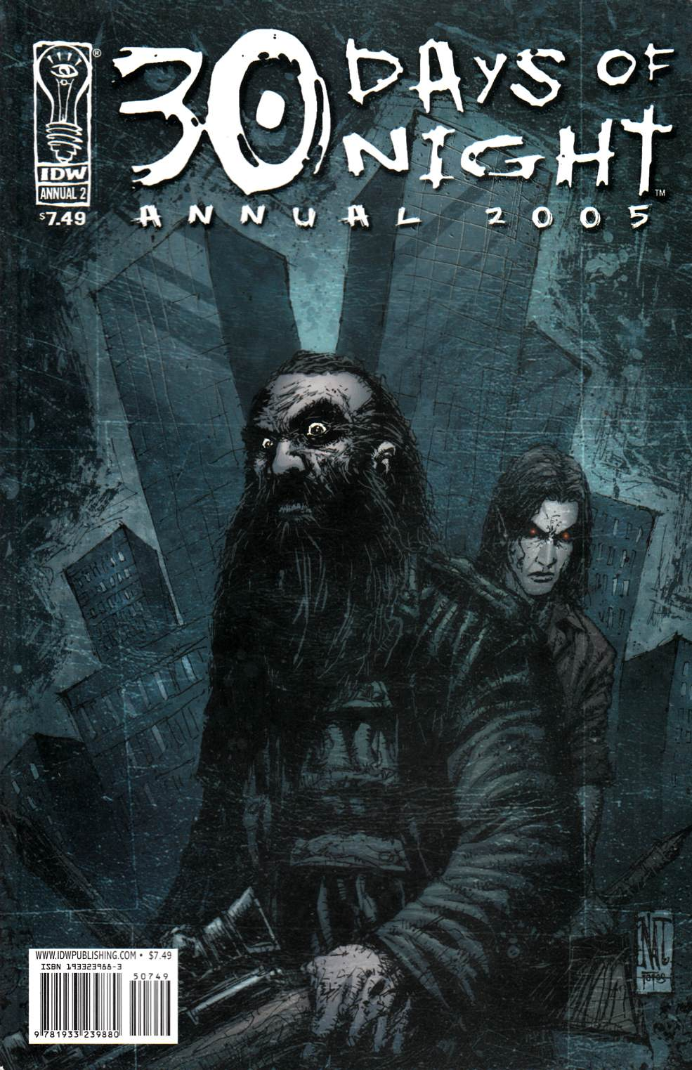 30 Days of Night Annual 2005 (One Shot) Very Fine (8.0) [IDW Comic] THUMBNAIL