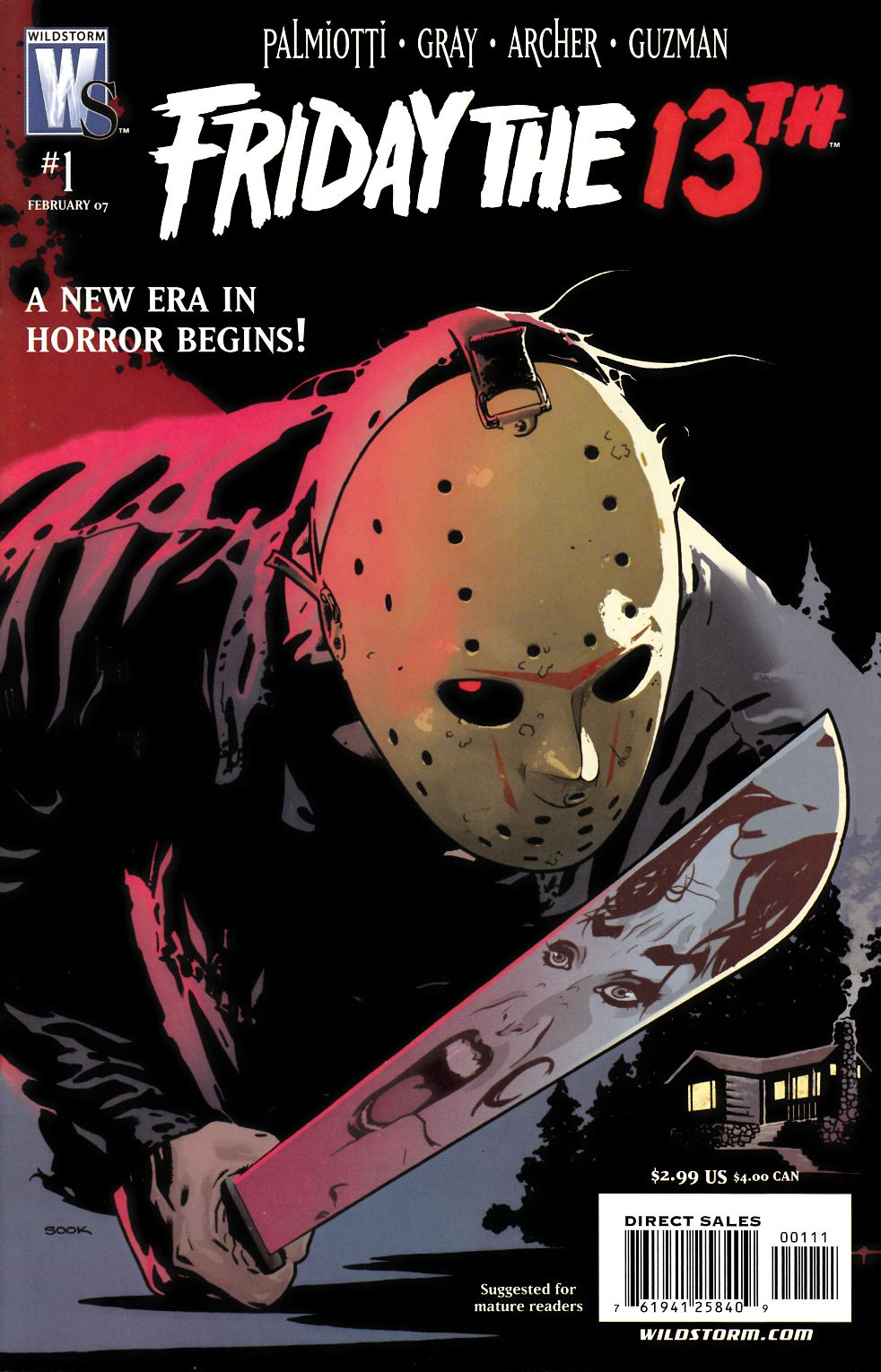 Friday the 13th #1 [DC Comic] THUMBNAIL