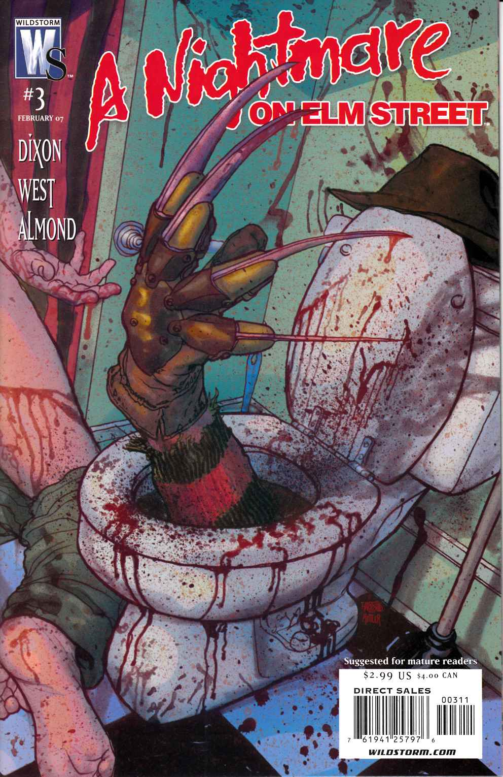 Nightmare on Elm Street #3 Near Mint (9.4) [DC Comic] THUMBNAIL