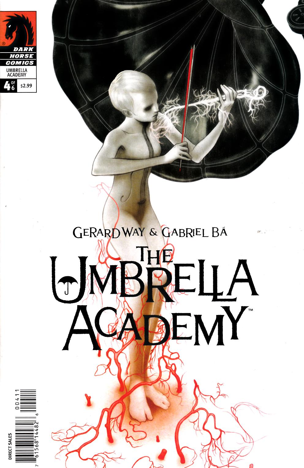 Umbrella Academy Apocalypse Suite #4 [Dark Horse Comic]