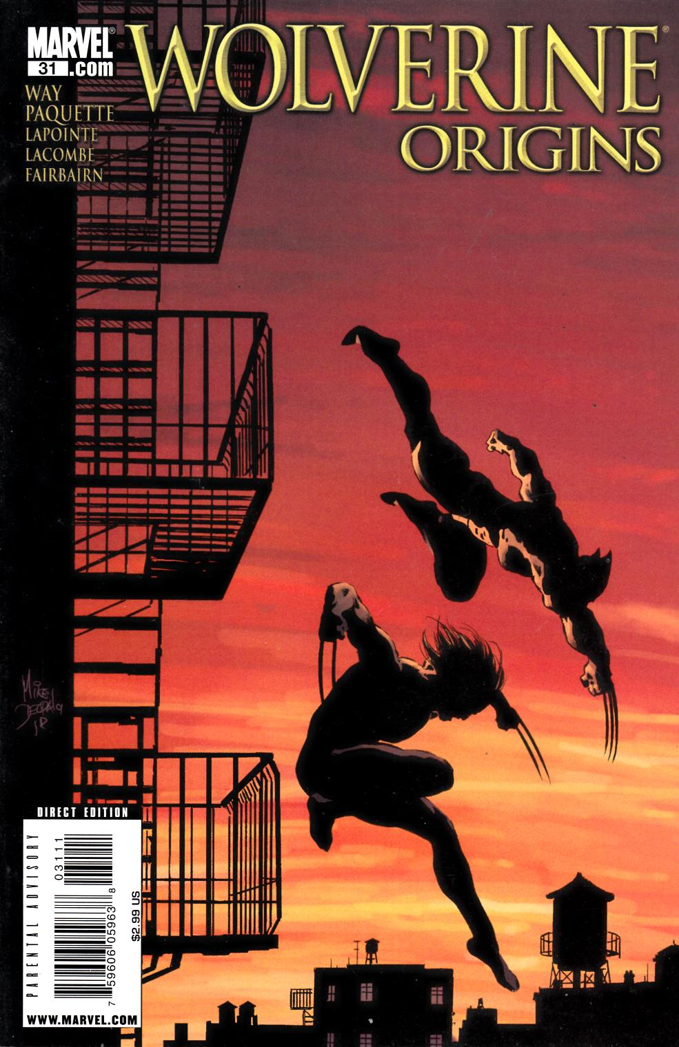 Wolverine Origins #31 Very Fine (8.0) [Marvel Comic] THUMBNAIL