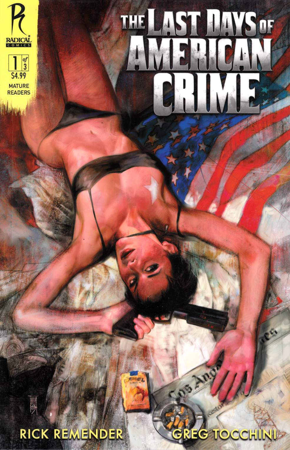 Last Days of American Crime #1 Cover A Near Mint (9.4) [Radical Comic] LARGE