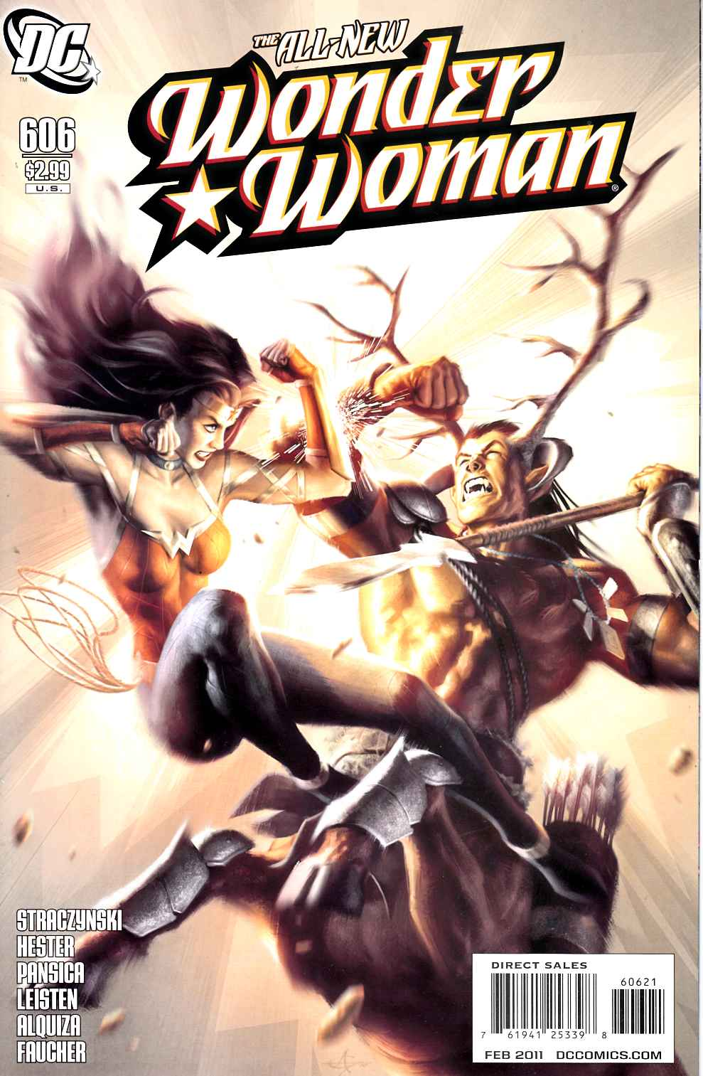 Wonder Woman #606 Garner Variant Cover [DC Comic] THUMBNAIL