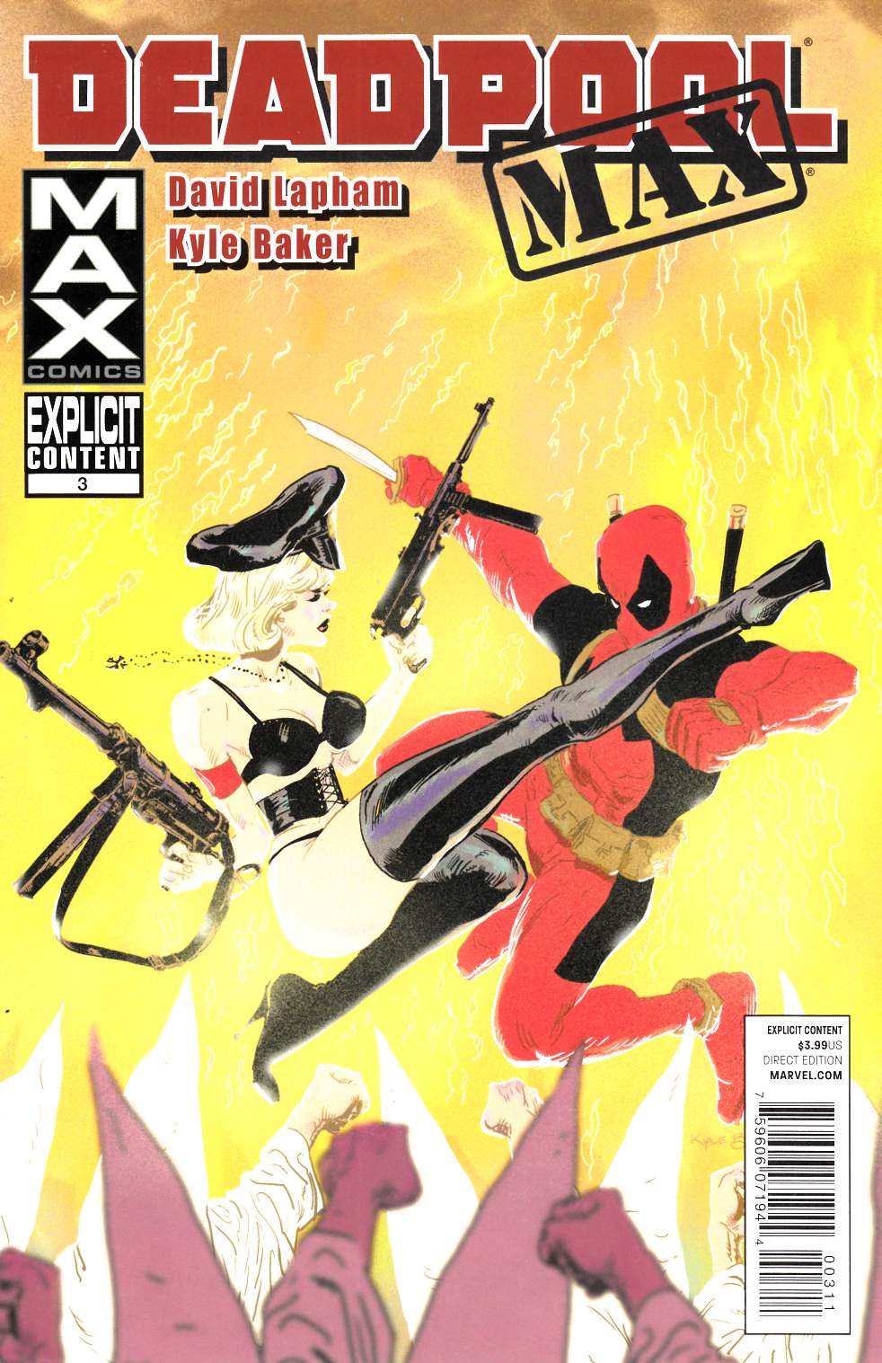 Deadpool Max #3 Near Mint (9.4) [Marvel Comic] THUMBNAIL