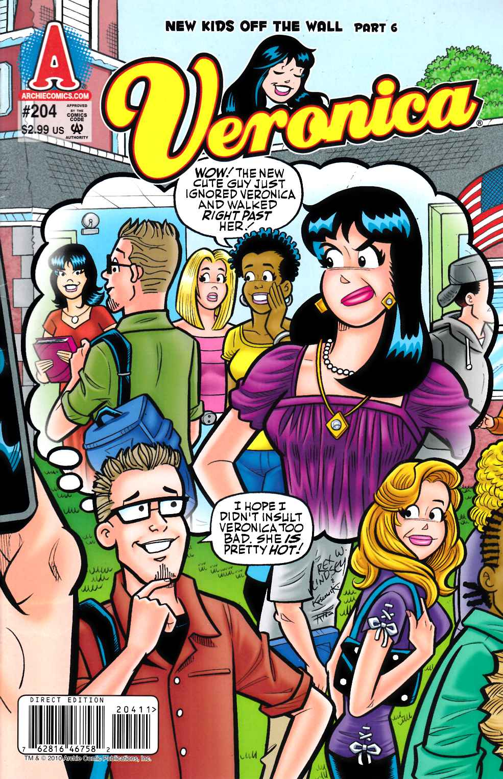 Veronica #204 Very Fine (8.0) [Archie Comic] THUMBNAIL