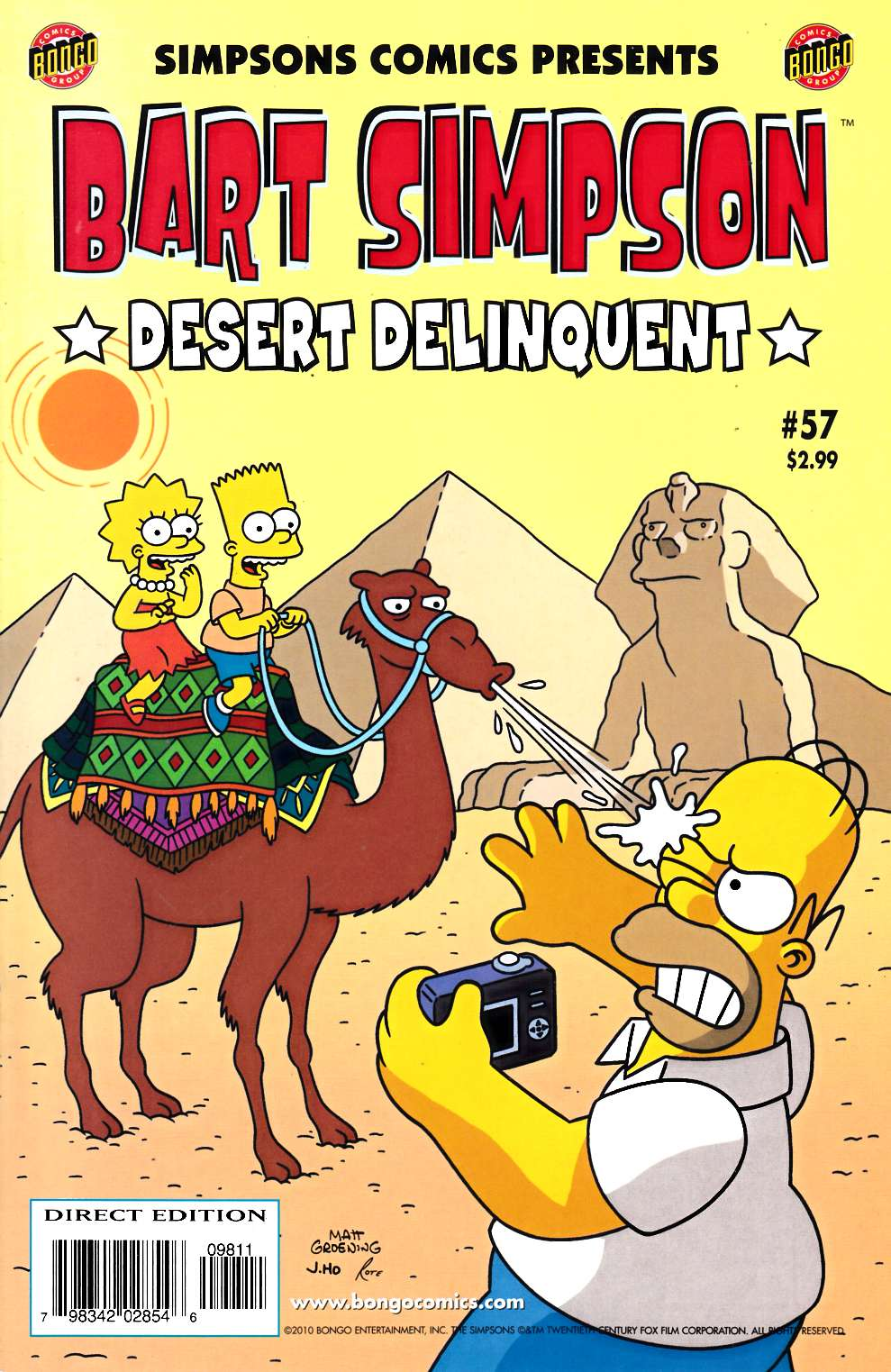 Bart Simpson Comics #57 Near Mint (9.4) [Bongo Comic]_THUMBNAIL