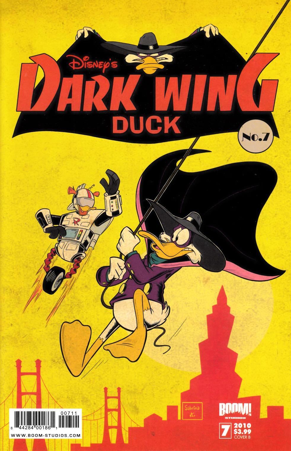 Darkwing Duck #7 Cover B Fine Plus (6.5) [Boom Comic]_THUMBNAIL
