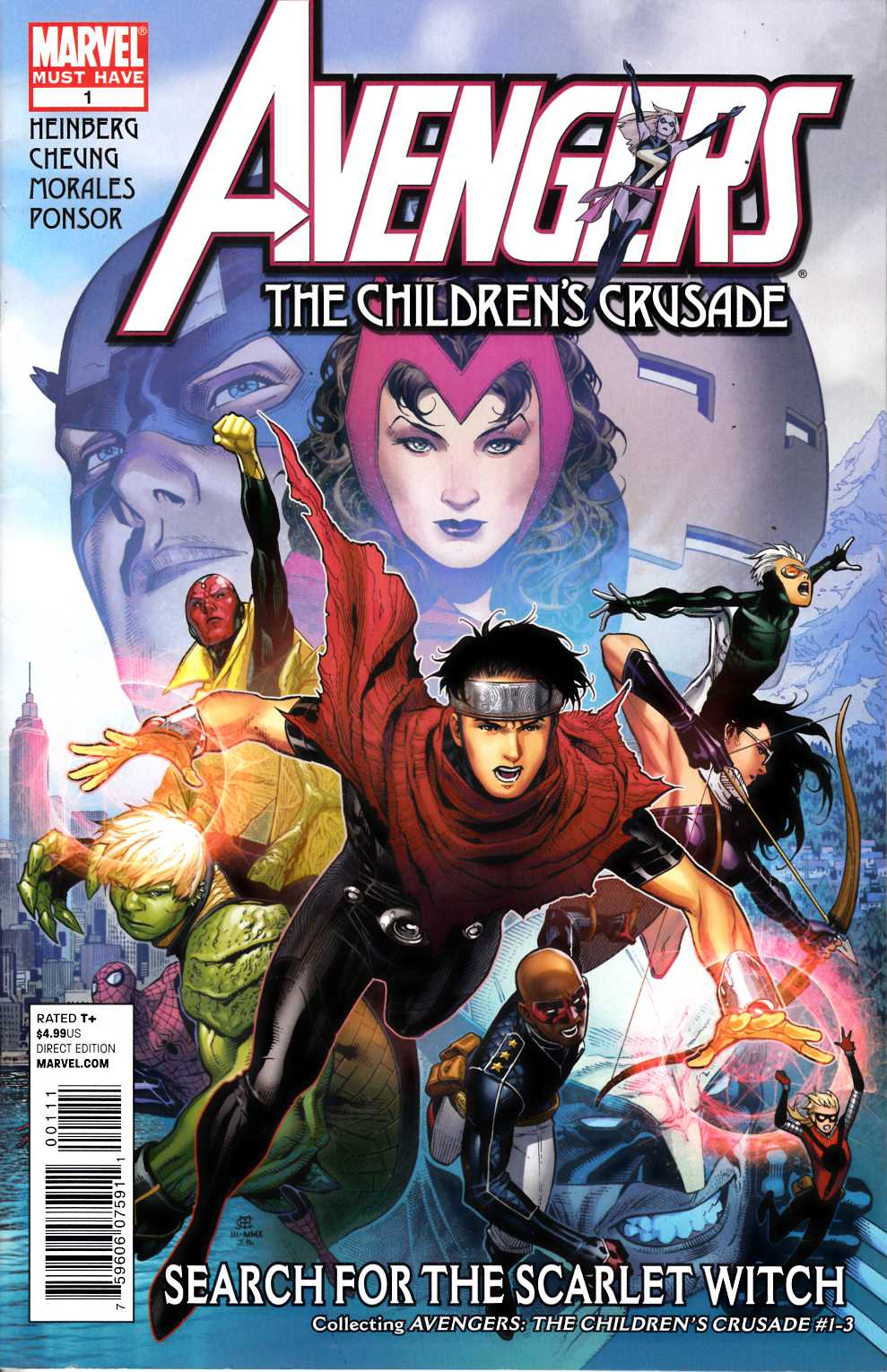 Marvel Must Haves Avengers Childrens Crusade (One Shot) Fine (6.0) [Marvel Comic] THUMBNAIL