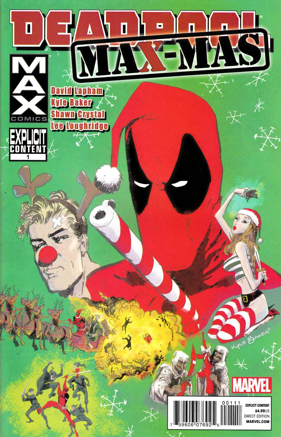 Deadpool Max X-Mas Special #1 [Marvel Comic] THUMBNAIL