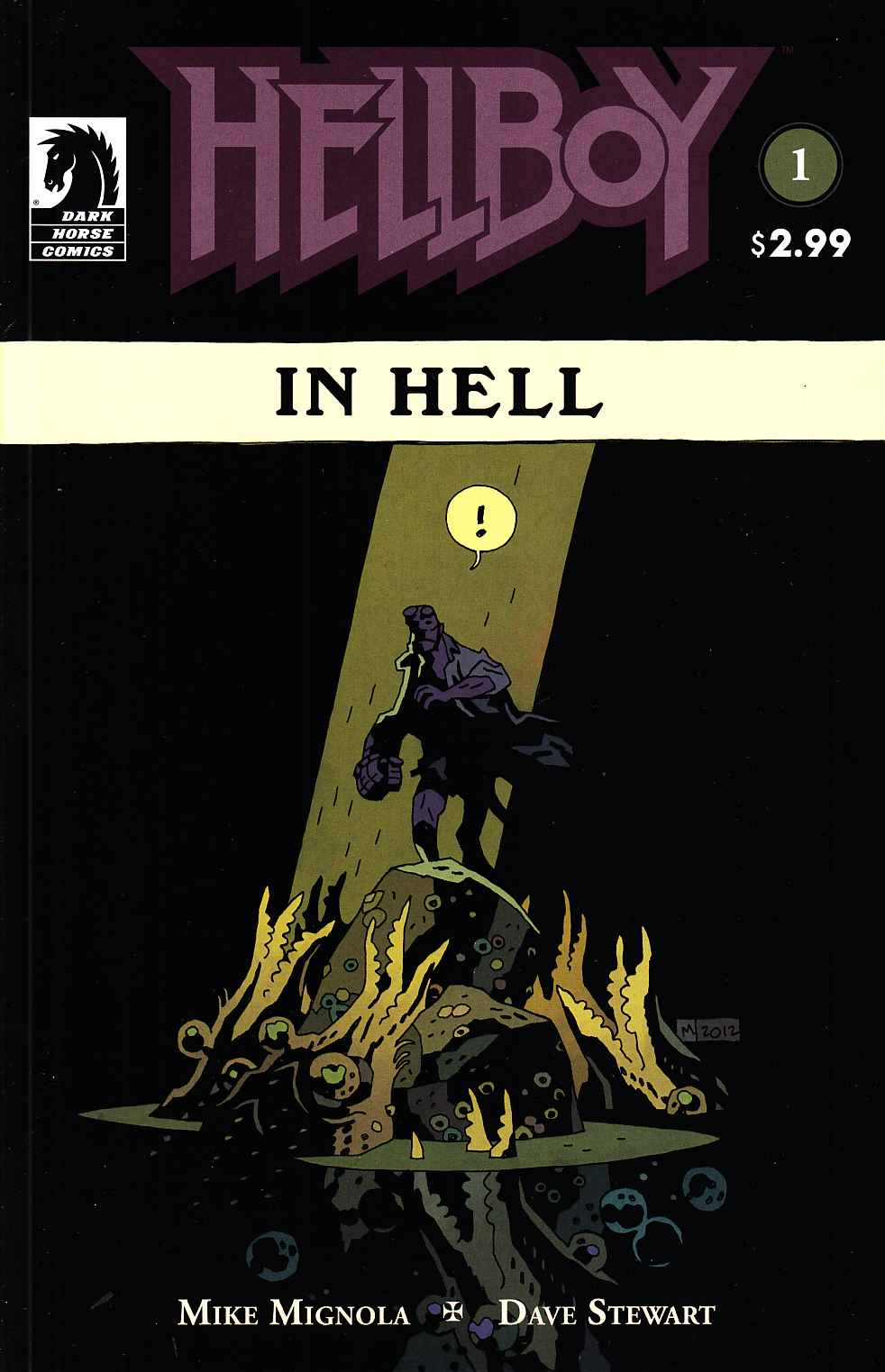 Hellboy In Hell #1 [Dark Horse Comic] THUMBNAIL