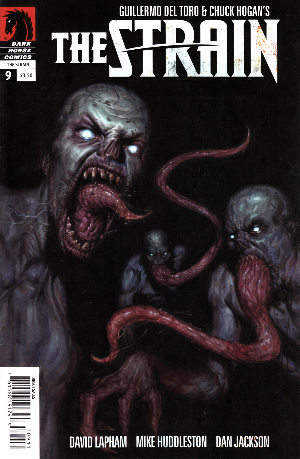 The Strain #9 [Dark Horse Comic]
