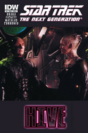 Star Trek Next Generation Hive #4 Cover B- Photo [Comic] THUMBNAIL