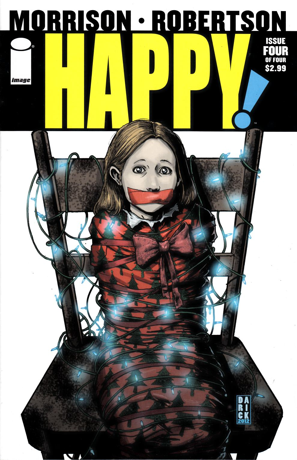 Happy #4 Near Mint (9.4) [Image Comic] THUMBNAIL