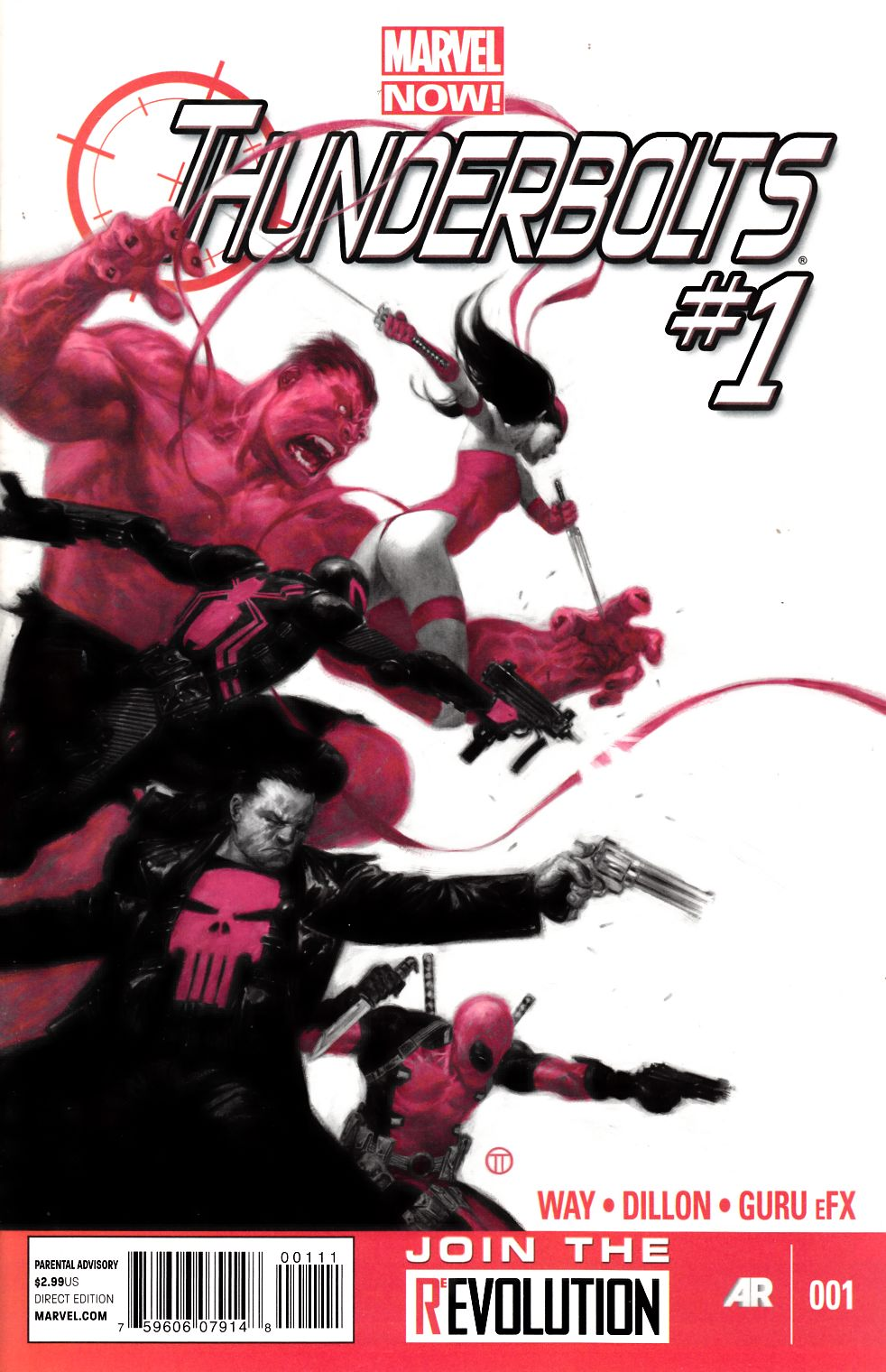 Thunderbolts #1 Near Mint (9.4) [Marvel Comic] THUMBNAIL