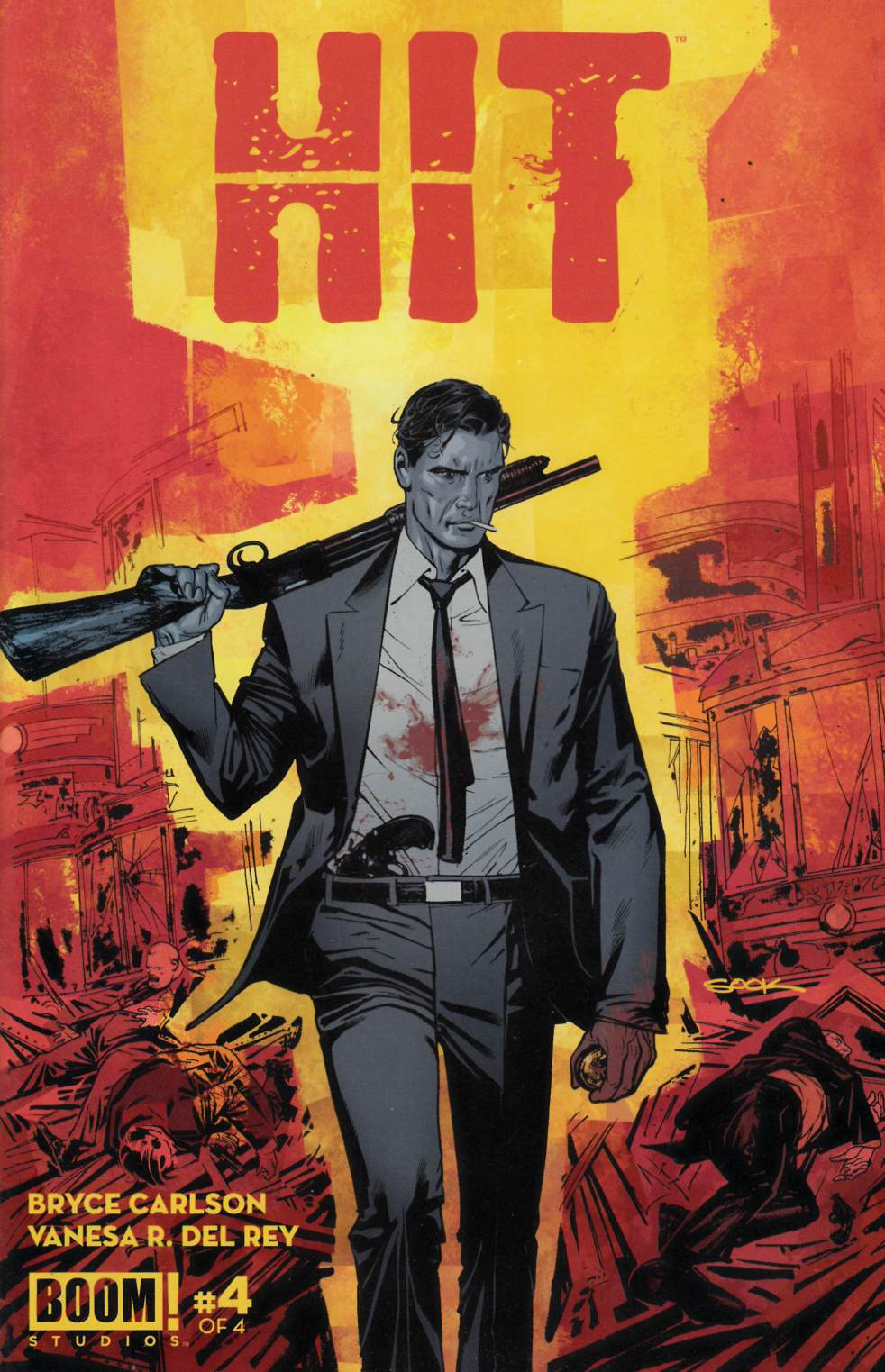 Hit #4 Near Mint (9.4) [Boom Comic] THUMBNAIL