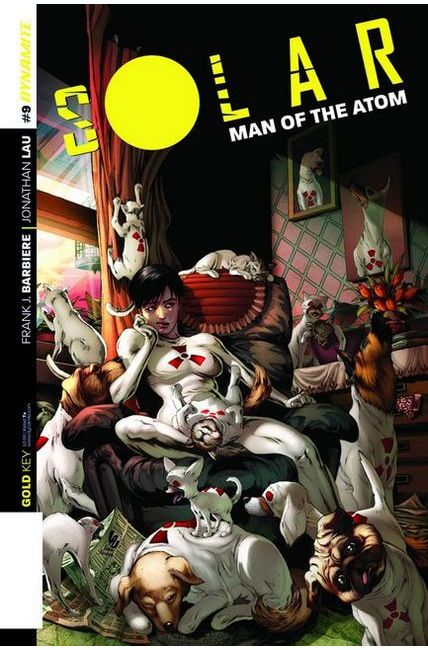 Solar Man of Atom #9 Cover B- Lau Subscription [Dynamite Comic]_THUMBNAIL