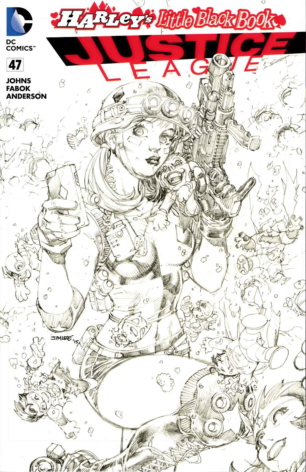 Justice League #47 Jim Lee Pencils Variant Cover [DC Comic]_THUMBNAIL