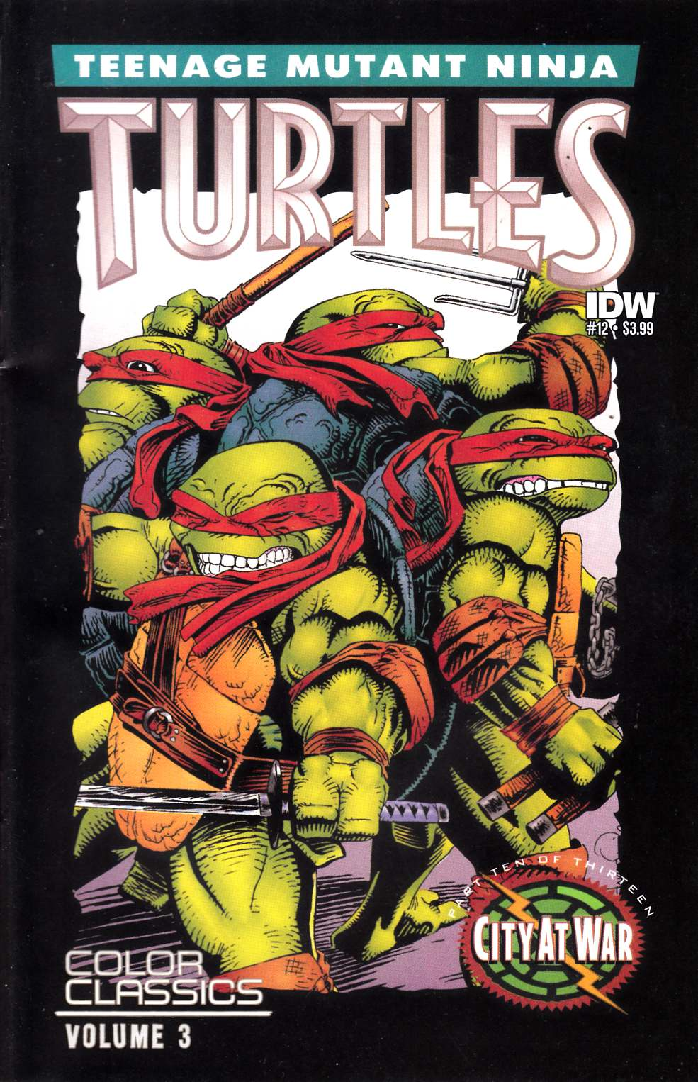 Teenage Mutant Ninja Turtles Color Classics Series 3 #12 Fine (6.0) [IDW Comic] THUMBNAIL