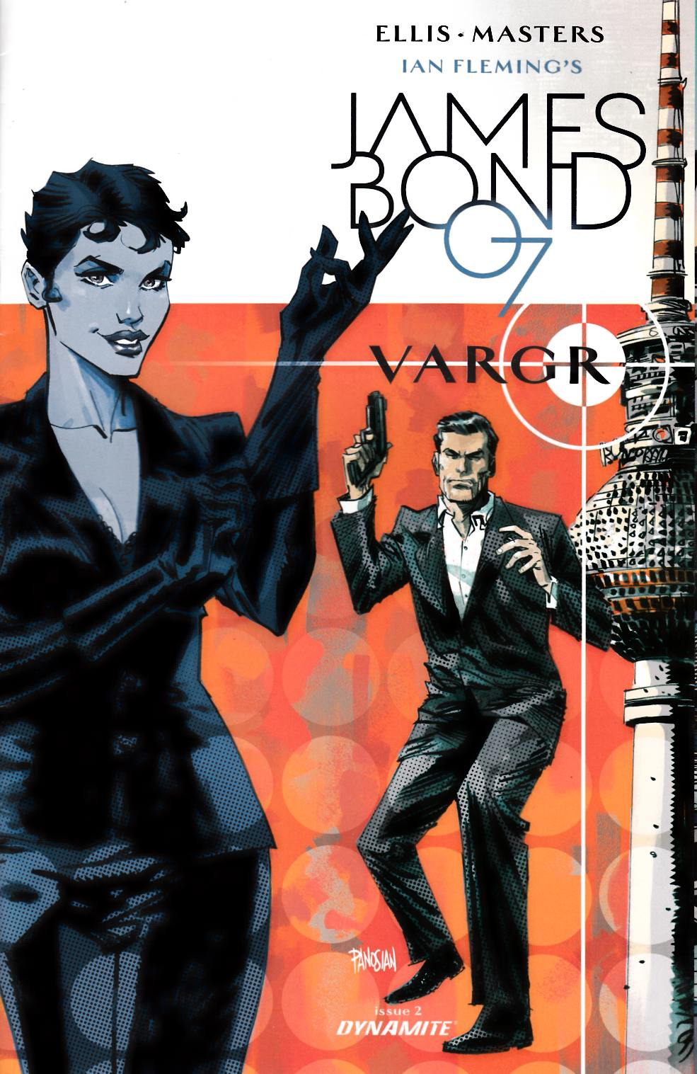 James Bond #2 Cover D- Panosian Incentive [Dynamite Comic]